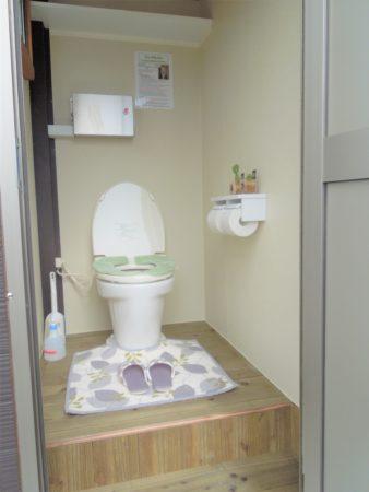 バイオトイレ 室内