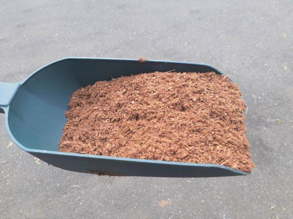 使用後の杉チップ